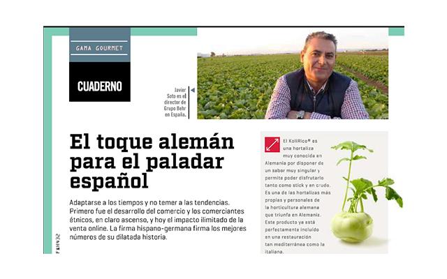 Jardín de Hortalizas y su línea Gourmet