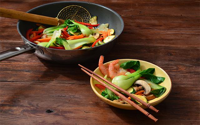 WokChoi® con verduras a la plancha