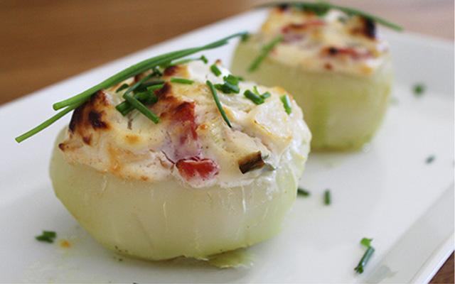 KoliRico®  relleno con tomates y queso fresco